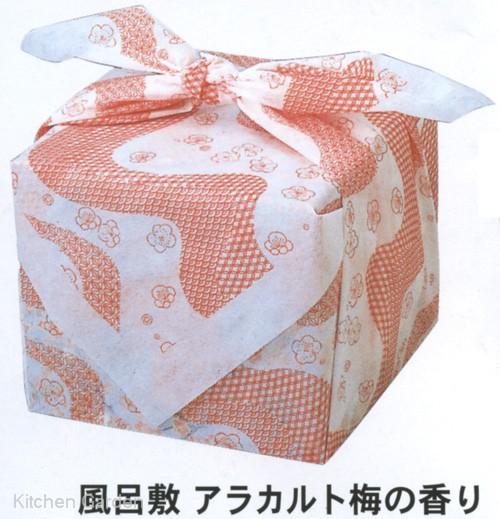 迎春風呂敷 アラカルト梅の香り 90cm角(200枚入)【他商品との同梱配送不可・代引不可】