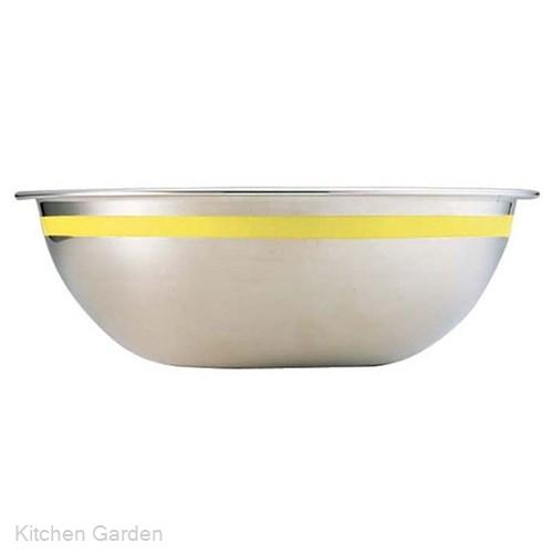 SA 18-8 ステンレス  カラーライン ボール 55cm イエロー