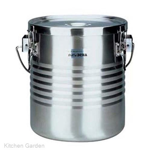 真空断熱容器(シャトルドラム) 手付 JIK-W18 .[18-8 ステンレス製]