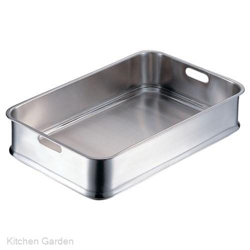 エコクリーン IKD18-8 ステンレス  給食バット 手穴明 .【ステンレスバット】