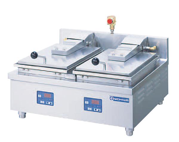 電気自動餃子焼器2連式 NGM-5.6AT 3相200V【他商品との同梱配送不可・代引不可】