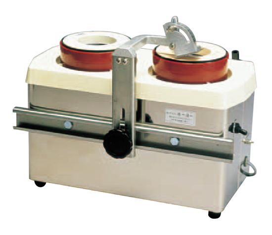 水流循環式 電動刃物研機 ツインシャープナーMSE2W型