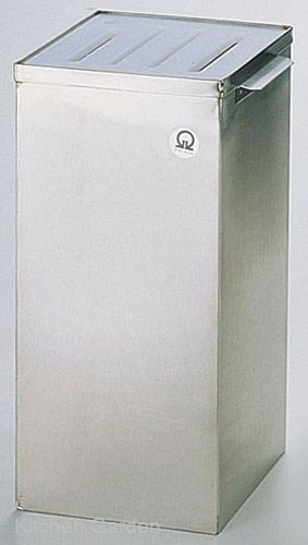SA 18-8 ステンレス製 角型庖丁桶 .【業務用調理用品のキッチンガーデン ~飲食店舗用品・厨房用品専門店~】