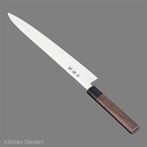 堺菊守 和式 筋引(両刃)紫檀柄 27cm