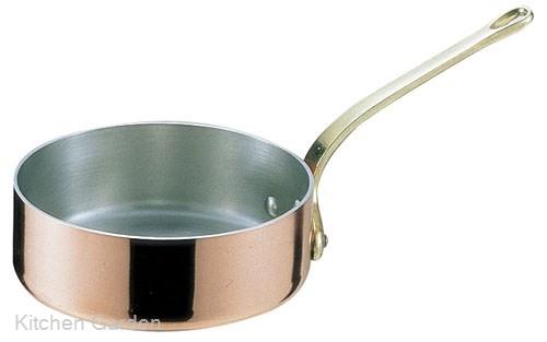 SAエトール銅 片手浅型鍋 15cm .【浅型片手鍋】