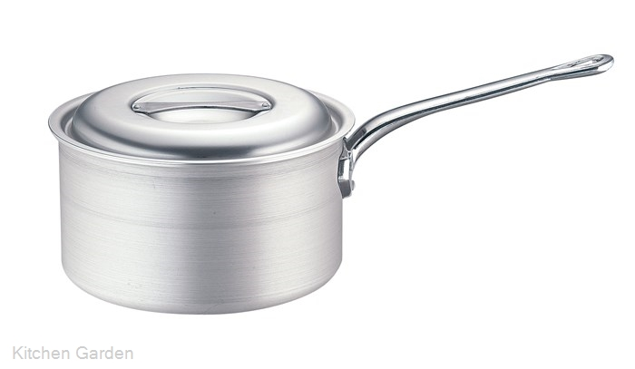 TKG IHアルミ 深型片手鍋(目盛付) 27cm