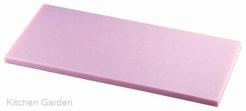 K型オールカラーまな板ピンク K3 600×300×H30mm .【業務用プラスチックまな板】