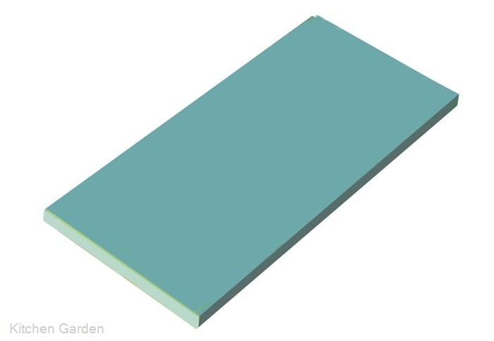 瀬戸内一枚物カラーまな板 ブルー K6 750×450×H30mm .【業務用プラスチックまな板】