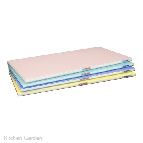 抗菌ポリエチレン全面カラーかるがるまな板 600×350×H23mm P .【業務用プラスチックまな板】