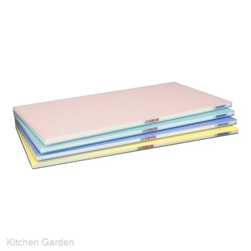 抗菌ポリエチレン全面カラーかるがるまな板 600×350×H18mm Y .【業務用プラスチックまな板】