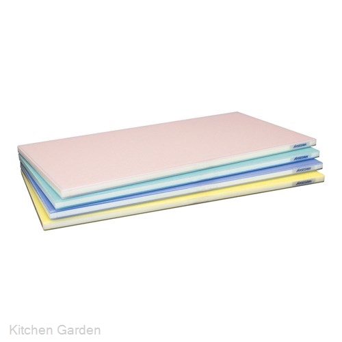 ポリエチレン 全面カラーかるがるまな板 600×350×H18mm Y .【業務用プラスチックまな板】
