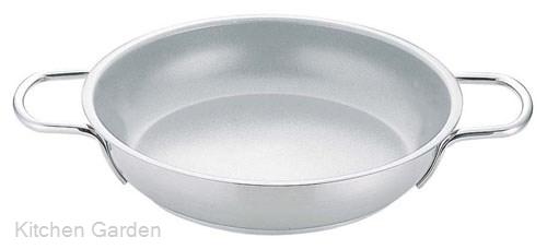 ムラノインダクション 18-8 ステンレス製 オムレツパン 40cm .【業務用調理用品のキッチンガーデン】
