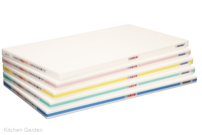 ポリエチレン・抗菌軽量おとくまな板 4層 500×250×H25mm W【他商品との同梱配送不可・代引不可】