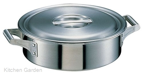 18-10 ステンレス製 ロイヤル 外輪鍋 XSD-360 .【業務用調理用品のキッチンガーデン】