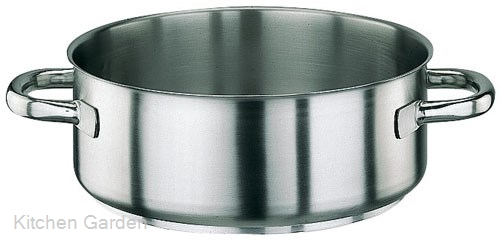 パデルノ 18-10 ステンレス 外輪鍋 (蓋無) 1009-32