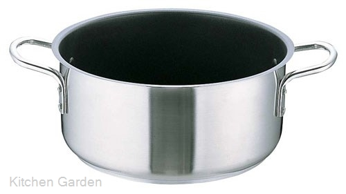 Murano(ムラノ) インダクション テフロンセレクト 外輪鍋(蓋無)28cm .[IH電磁調理器対応]