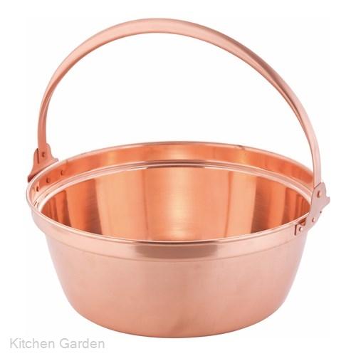 銅製 山菜鍋(内側錫引きなし) 36cm .[銅製]