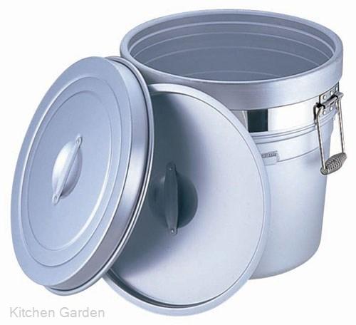 アルマイト 段付二重食缶 (大量用) 250-S (36リットル) .[アルマイト]