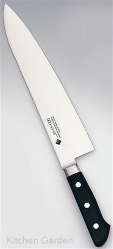 堺實光 プレミアムマスター II (ツバ付) 牛刀 21cm