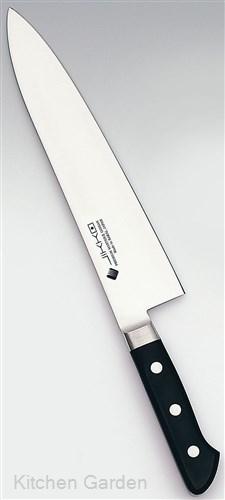 堺實光 プレミアムマスター II (ツバ付) 洋出刃 24cm