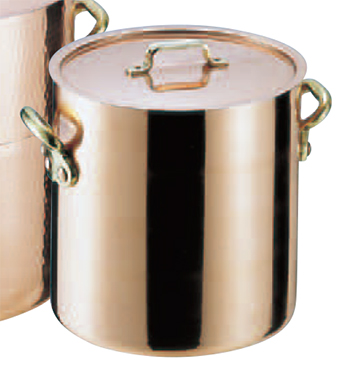 SAエトール銅 寸胴鍋 24cm .【銅製寸胴鍋】