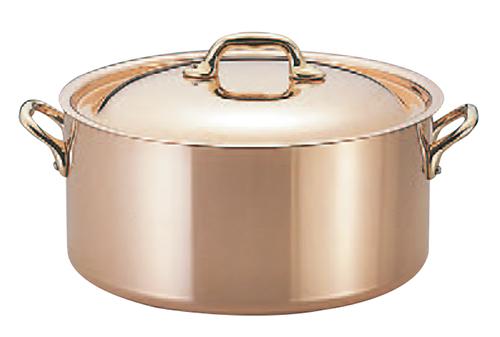 モービルカパーイノックス半寸胴鍋(蓋付) 6522.12 12cm