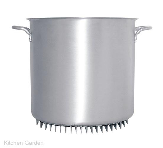 アルミ エコライン寸胴鍋(蓋無) 33cm