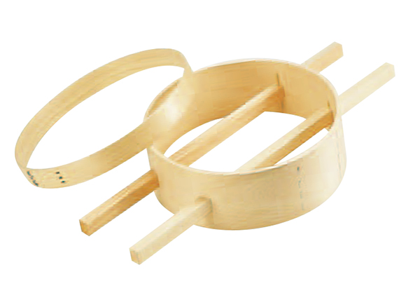 メーカー公式 木製 木製内棒式ダシコシ輪 売り込み 27cm