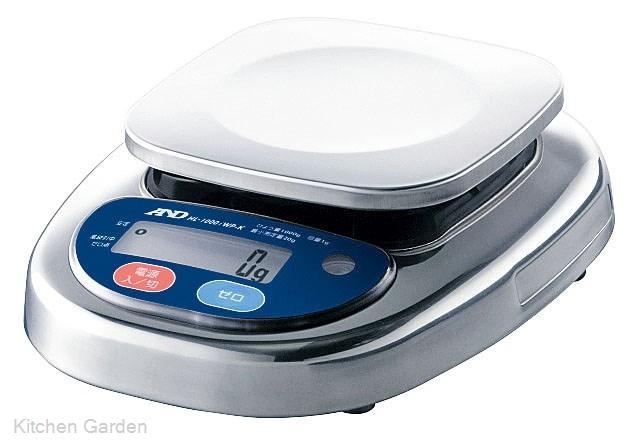 A&D 防水・防塵デジタルスケール HL-2000iWP-K