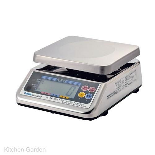 ヤマト 防水型デジタル上皿はかり UDS-1V II WP-6【他商品との同梱配送不可・代引不可】