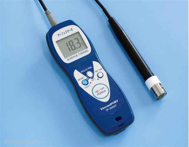 ハンディ温度計 サーフェスサーモ TP-500HT 標準センサ付