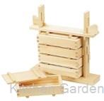 木製 押し寿司 5段セット(桧材)