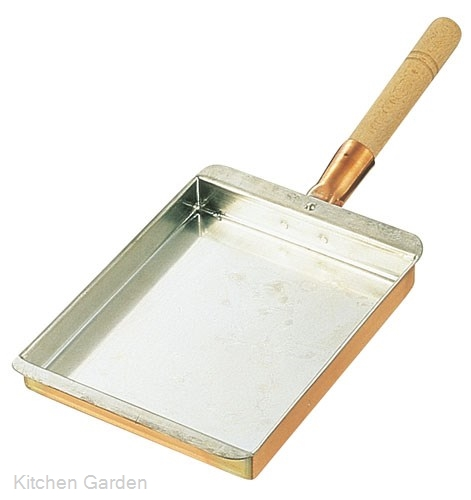 SA銅 玉子焼 関西型 30cm .【銅製卵焼き器】