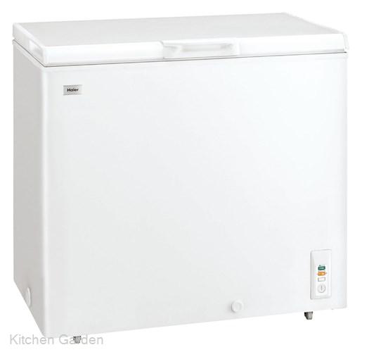 ハイアール チェスト式冷凍庫(直冷式) JF-NC205F(W)【他商品との同梱配送不可・代引不可】
