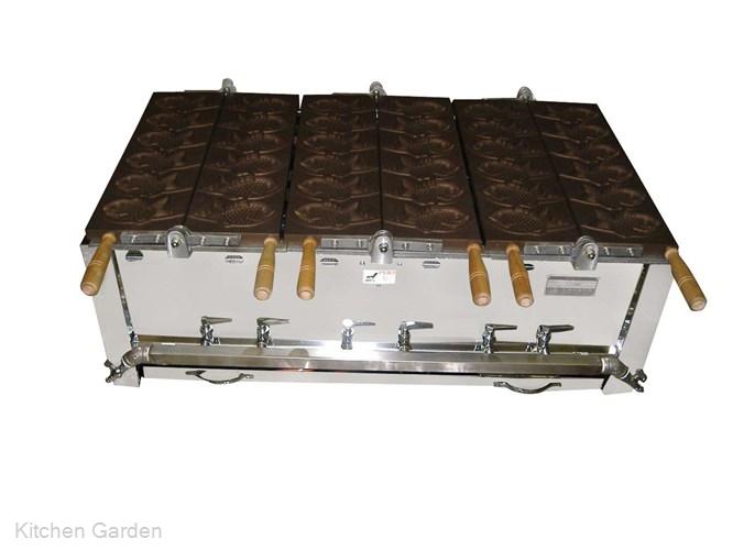 鯛焼器 EGT-4 都市ガス .【業務用調理用品のキッチンガーデン ~飲食店舗用品・厨房用品専門店~】