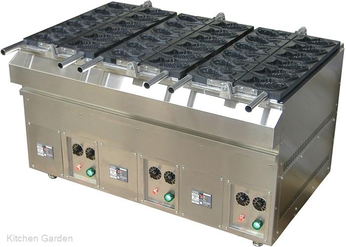電気式たい焼機 KTI-3(18ヶ取) .【業務用調理用品のキッチンガーデン ~飲食店舗用品・厨房用品専門店~】