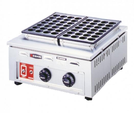 電気式たこ焼器(ころがし式) TG-2 (2連式56個焼)【他商品との同梱配送不可・代引不可】