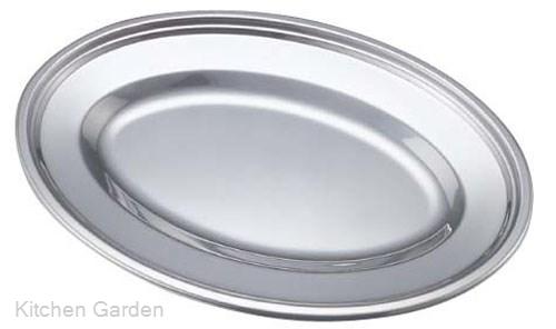 ホテルやレストランのビュッフェバイキング用品 小判皿プレート 新着セール エコクリーン IKD 小判皿 10インチ ステンレス製 18-8 スピード対応 全国送料無料 .