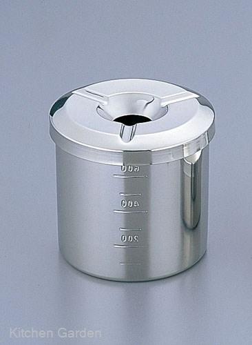 ステンレス製灰皿 ポット灰皿 宅送 深型 18-8 ステンレス製 . スーパーセール期間限定