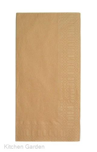 カラーナプキン 8ッ折(2,000枚入) 45cm 2P ブラウン