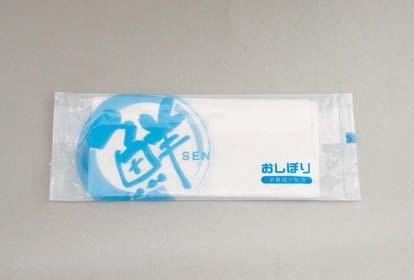 紙おしぼり「鮮」(1500本入) (100本×15袋)