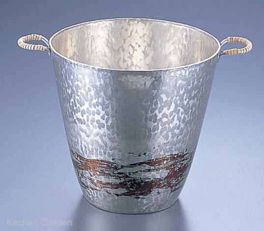 銅錫被 刷毛目ワインクーラー SG001 .[銅製]