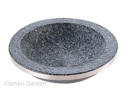 長水 石焼煮込み鍋 手無 補強リング付 YS-0332C 32cm