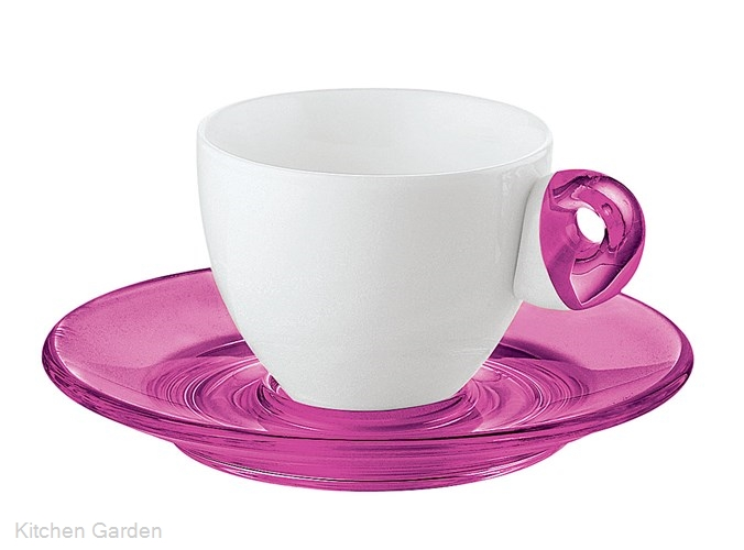 Guzzini(グッチーニ) エスプレッソカップ 6客セット2232.0314 ピンク
