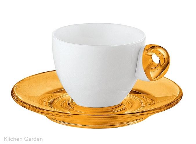 Guzzini(グッチーニ) エスプレッソカップ 6客セット2232.0345 オレンジ