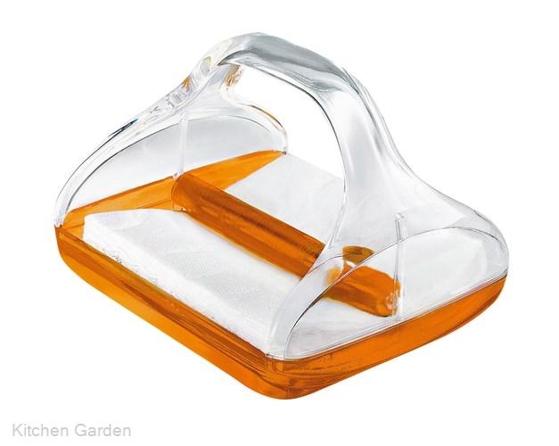 Guzzini(グッチーニ) ペーパーナプキンホルダー 2370.0045 オレンジ
