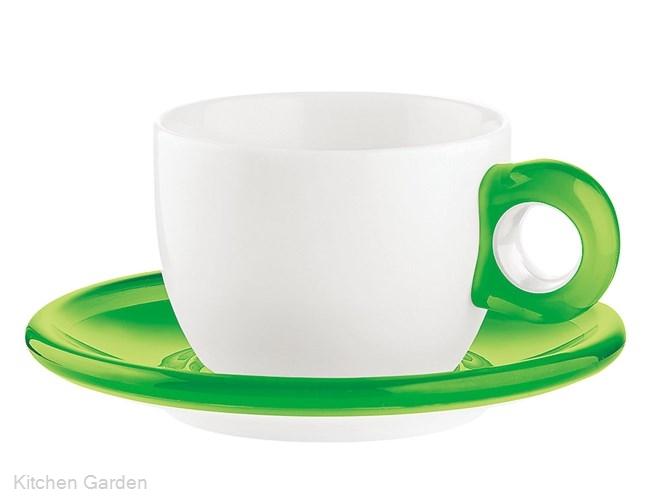 ティー/コーヒーカップ 2客セット 2774.0044 グリーン .【コーヒーカップ】