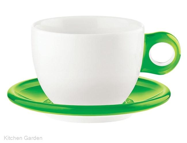 ラージコーヒーカップ 2客セット 2775.0044 グリーン .【コーヒーカップ】