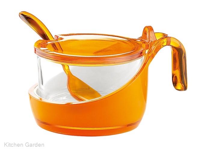 Guzzini(グッチーニ) シュガー/チーズジャー 2489.0045 オレンジ
