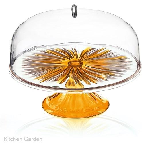 Guzzini(グッチーニ) ケーキスタンド&ドーム L 2494.0245 オレンジ